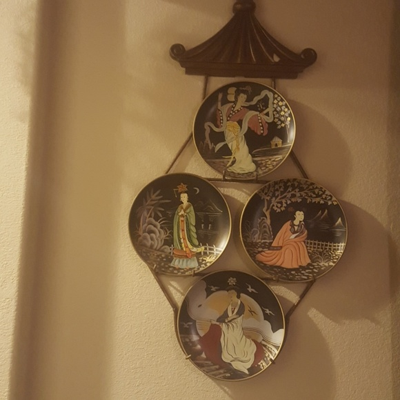 """oriental Other - Collector oriental 10"""" plates"""